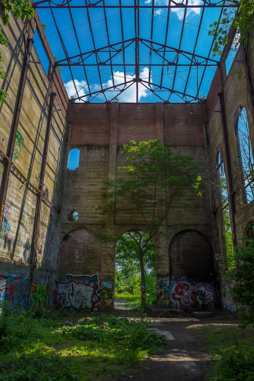 Abandoned Train Tracks & Cement Factory