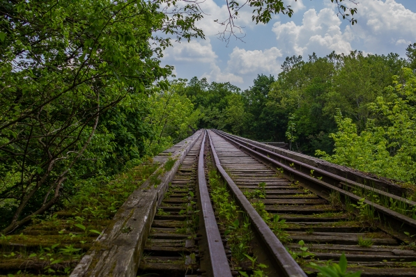 Abandoned Train Tracks 1