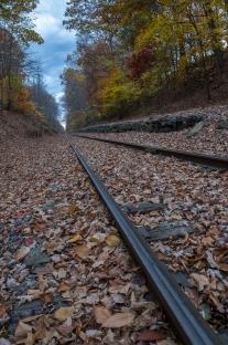 Abandoned Train Tracks – Mansfield, NJ – 11/3/16 – Favorite